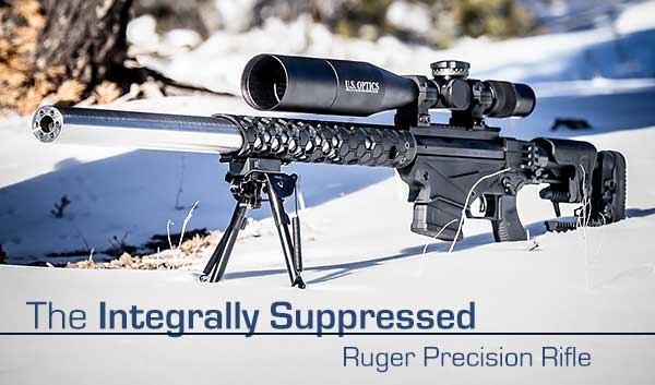 Witt Machine Integrally Suppressed Ruger Precision Rifle