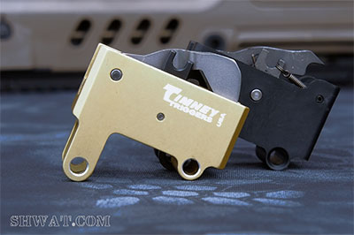 Timney vs IWI factory trigger