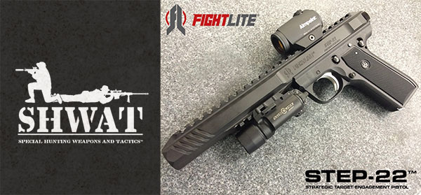 ARES Defense-FightLite® Industries STEP-22™ Silenced Pistol