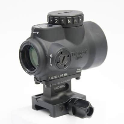 New Trijicon MRO Mount from Alamo Four Star