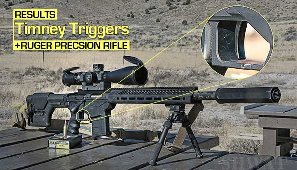 Timney Two Stage Trigger for Ruger Precision Rifle