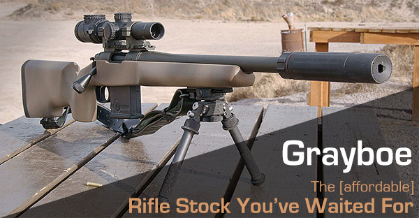 Grayboe – Is This the Rifle Stock You've Been Waiting For?
