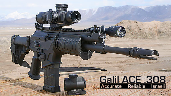 IWI Galil ACE .308 Review