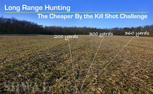 Long range deer hunting