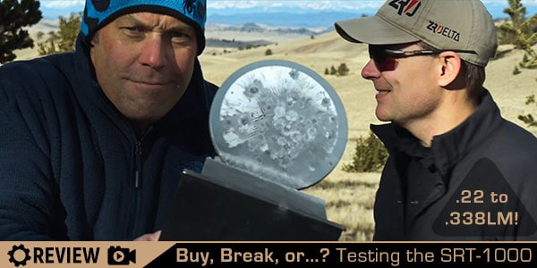 Buy it? Break it? Or…? Top Shot's Alex Charvat Joins Us to Test the SRT-1000 Self Resetting Steel Target