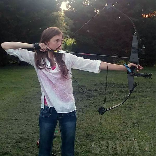 Me with my Darton Youth Bow