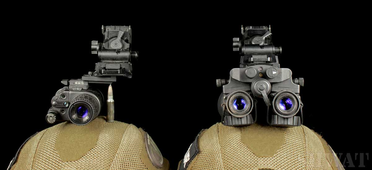 dual vs single tube night vision