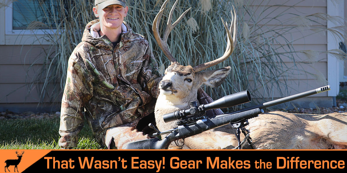 When Gear Makes All the Difference – My First Colorado Mule Deer!