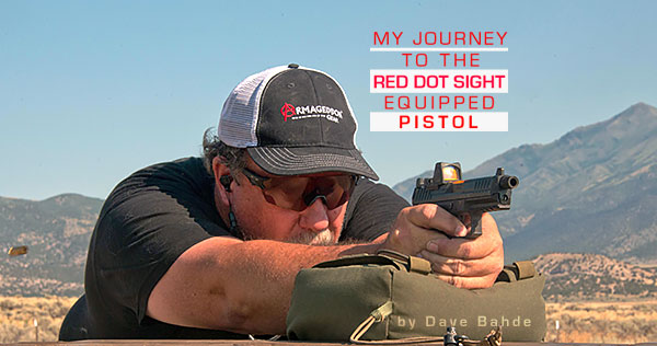 Learning to Shoot Red Dot Sight Pistol