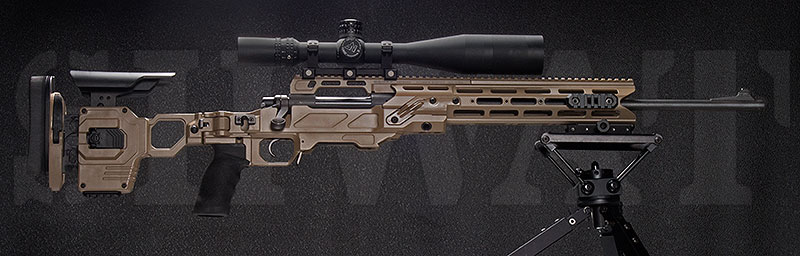 Tactical Long Range Precision Rifle Seeks Cutting Edge Chassis – Enter the Cadex Defense Strike Dual