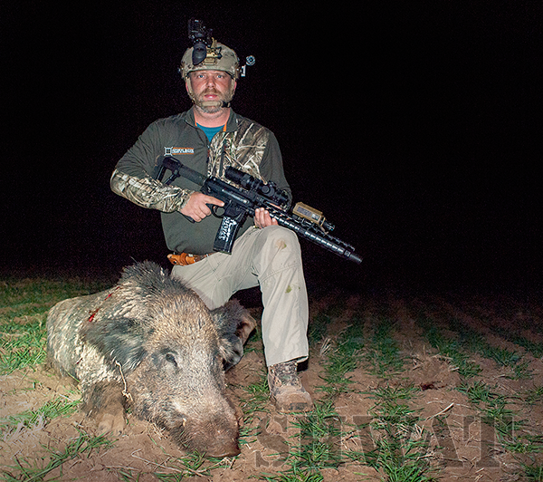 Hog Hunting with .458 SOCOM
